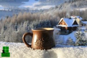 Gorąca, mrożona kawa :) Nie jest taka zła.